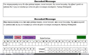 Screenshot from the Excel Cipher Assistant Excel Spreadsheet